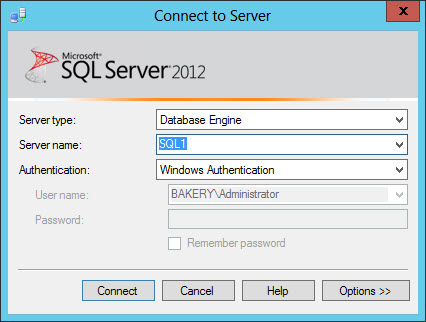 Connect SQL Management Studio as a different user